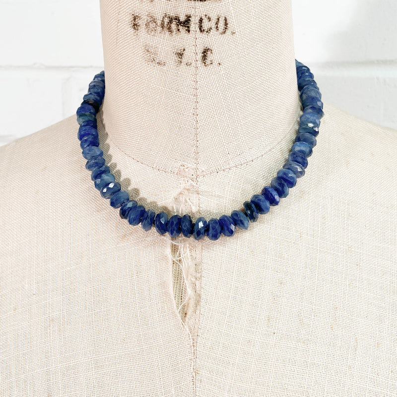 Kyanite Hand-Knotted Necklace