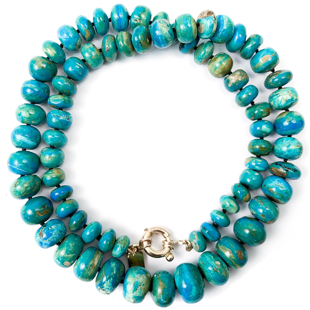 Peruvian Opal Statement Necklace