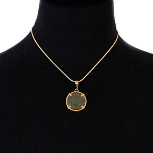 Genuine Ancient Roman Coin Necklace (MAXIMINUS II, 308-313 A.D.)