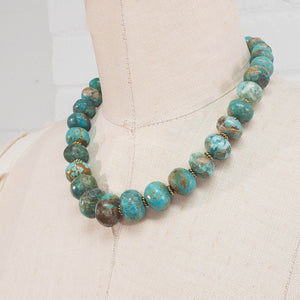 Arizona Turquoise Statement Necklace