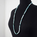 LARIMAR & APATITE STRAND NECKLACE