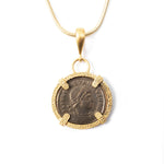 Ancient Roman Coin Necklace (CONSTANTINE II, 337-340 AD)