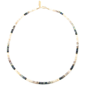 Australian Opal Heishi Necklace