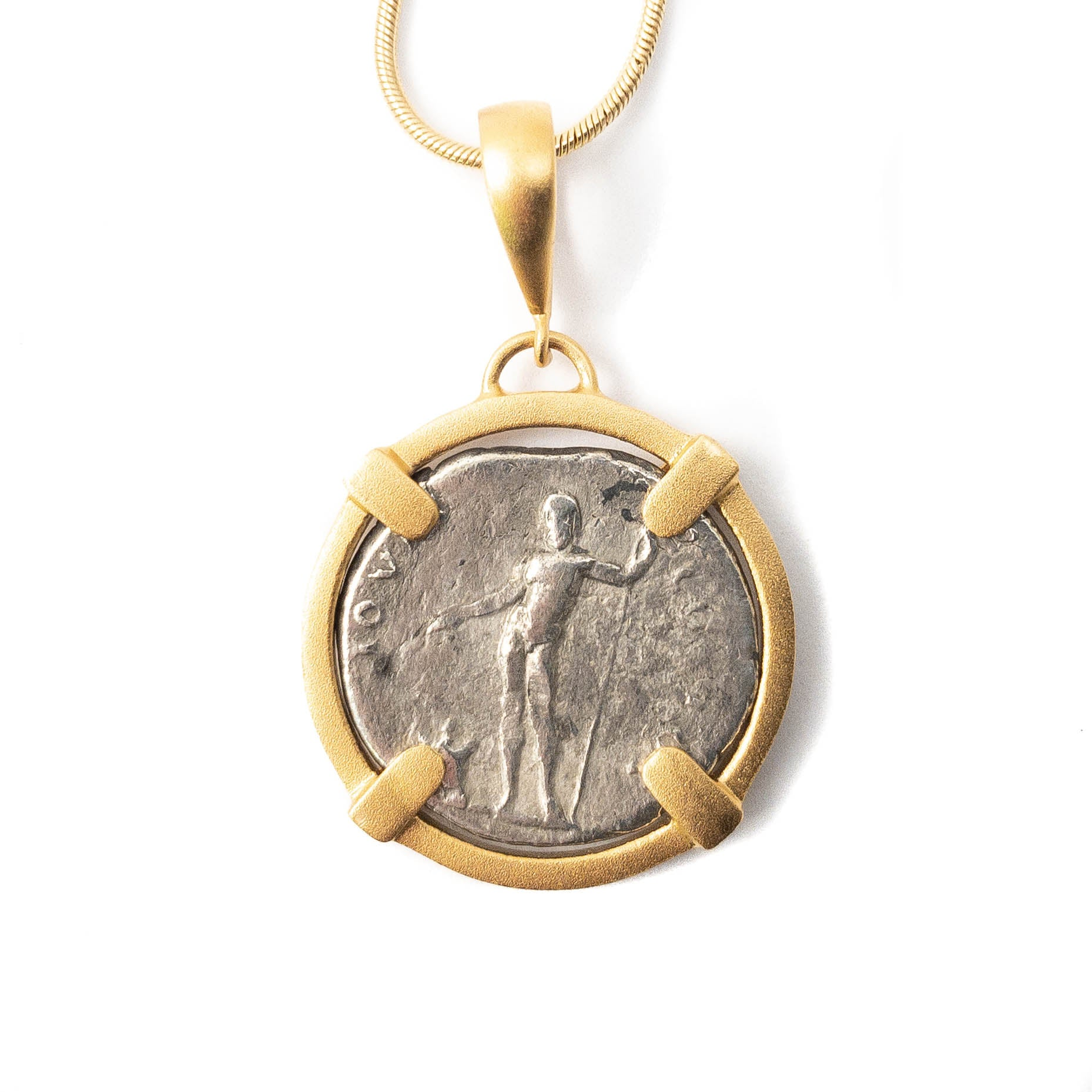 Genuine Ancient Roman Coin Necklace (VESPASIAN, 69-79 AD)