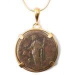 Genuine Ancient Roman Coin Necklace (ANTIONIUS PIUS, 138-161 AD)