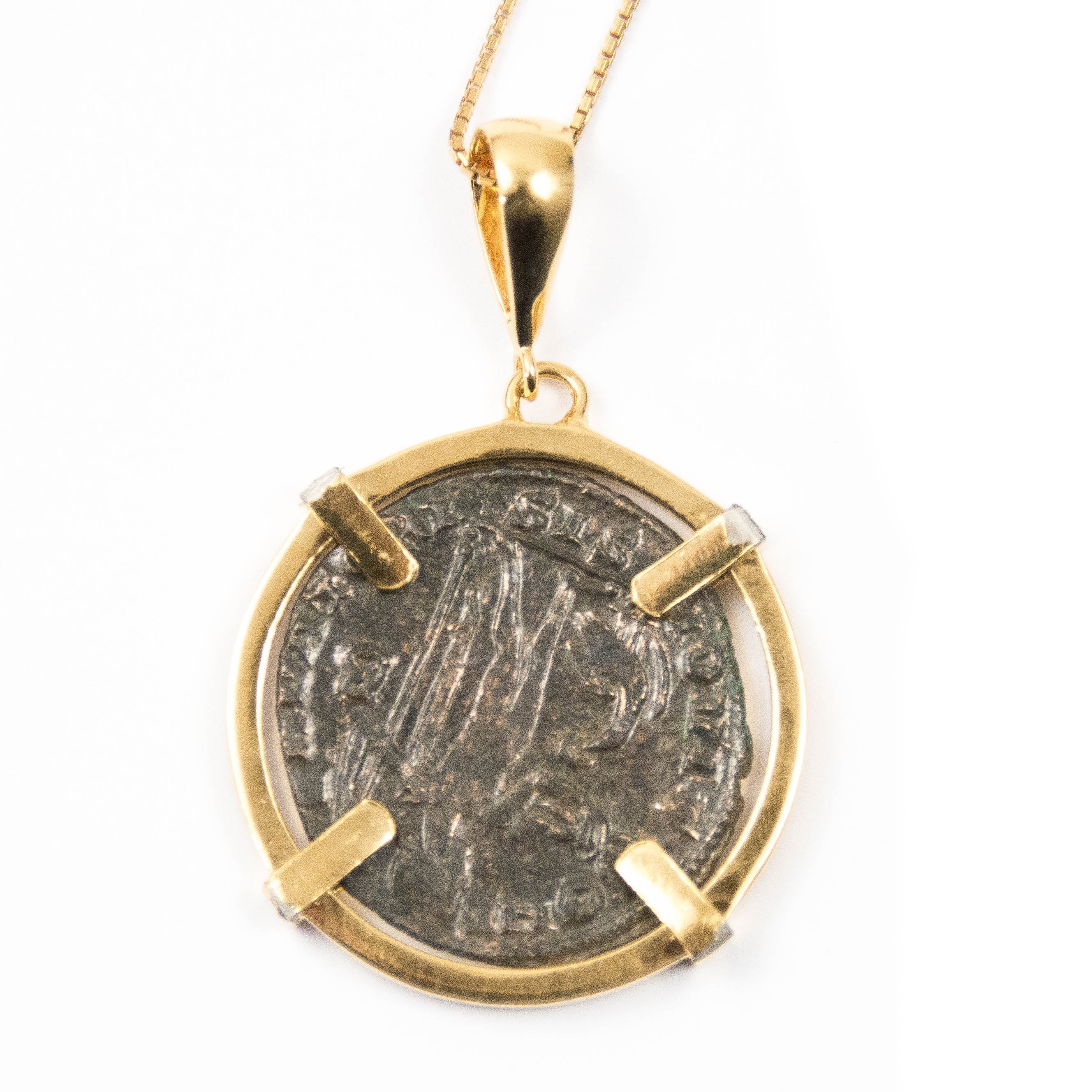 necklace gold jewelry roman product silverlust coin fine