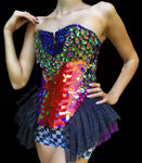 Dragon Tears Crystal Corset