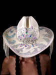Crystal Quartz Cowboy Hat