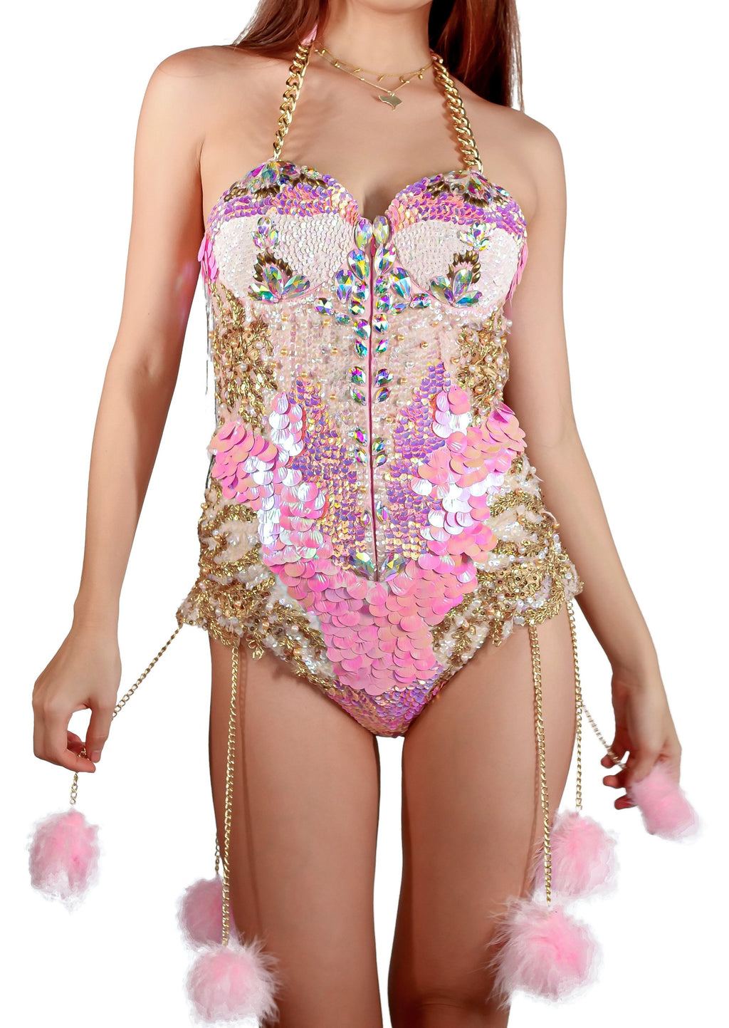 Cotton Candy Princess Bodysuit