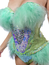 Load image into Gallery viewer, Minty Moth Princess Bodysuit