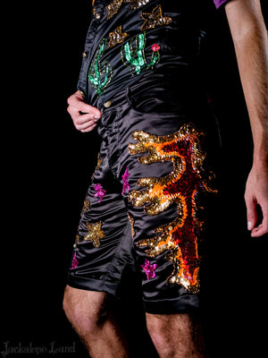 The Midnight Flame Shorts