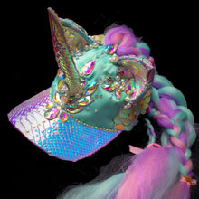 Load image into Gallery viewer, Crystal Dreams Unicorn Cap