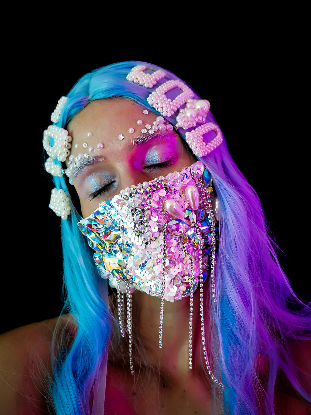 Crystal Breath Mask Cover
