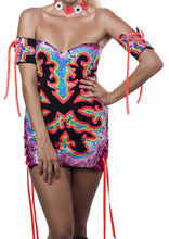 Load image into Gallery viewer, Kidd Cassidy's Neon Nights Dress
