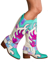 Load image into Gallery viewer, Blazing Gunn Cowboy Boots