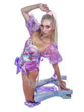 Load image into Gallery viewer, Sideshow Princess Garter+Shorts Set