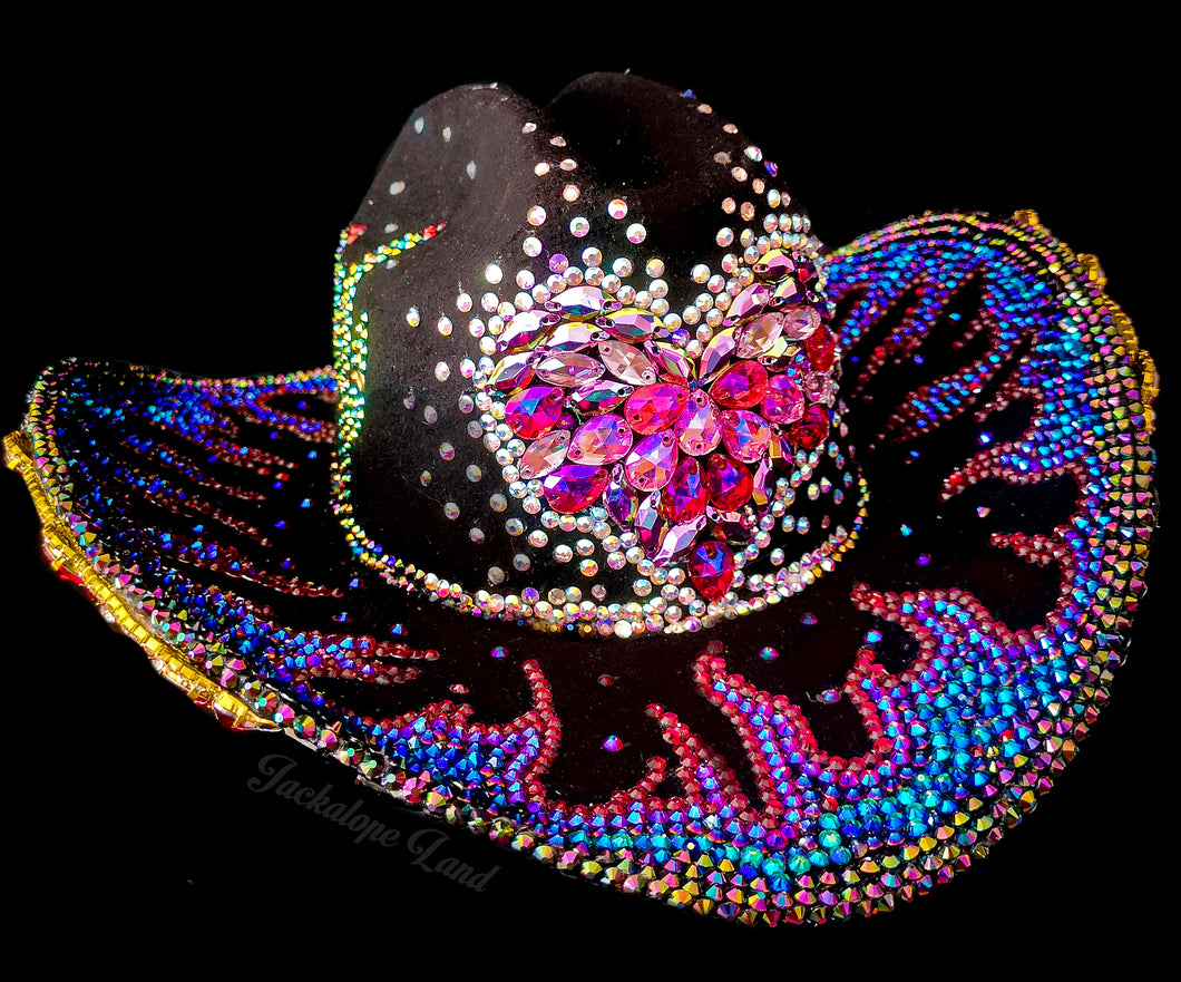 The Burnin' Hart Cowgirl Hat