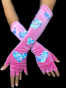 Cupid's Shooting Gloves