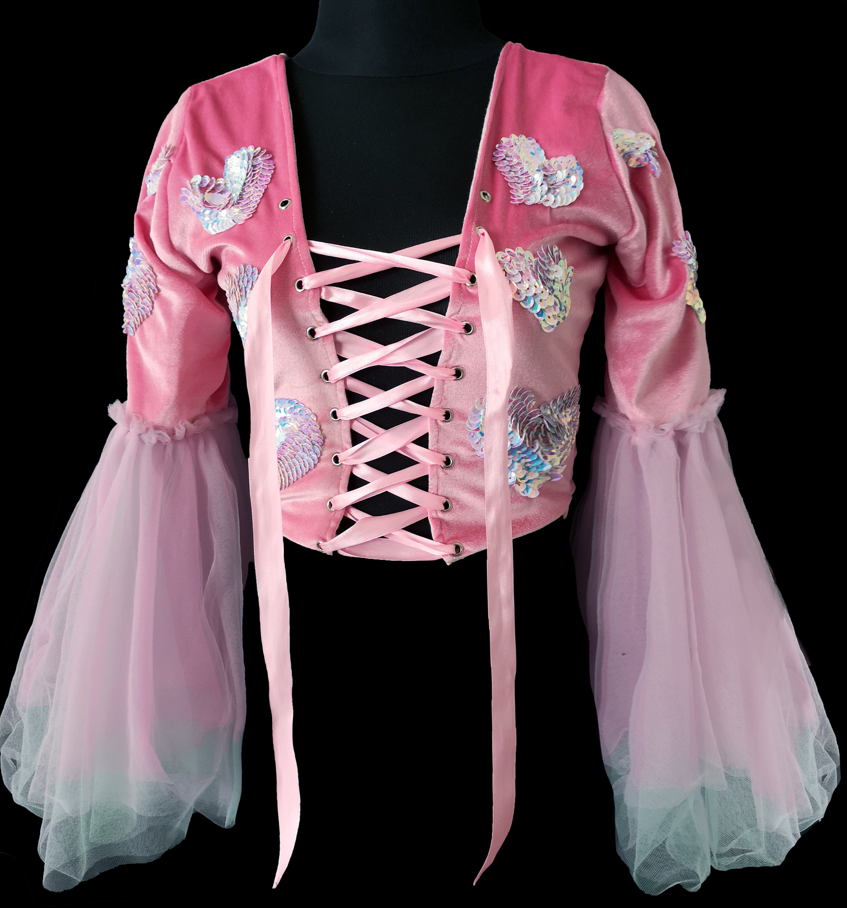 Cupid Fairy Wing Top