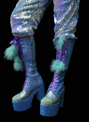 The Lunar Lorax Boots