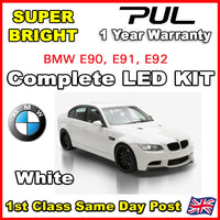 BMW E92 3 SERIES 2004-09 COMPLETE INTERIOR LED LIGHTING UPGRADE KIT 16 BULB SET
