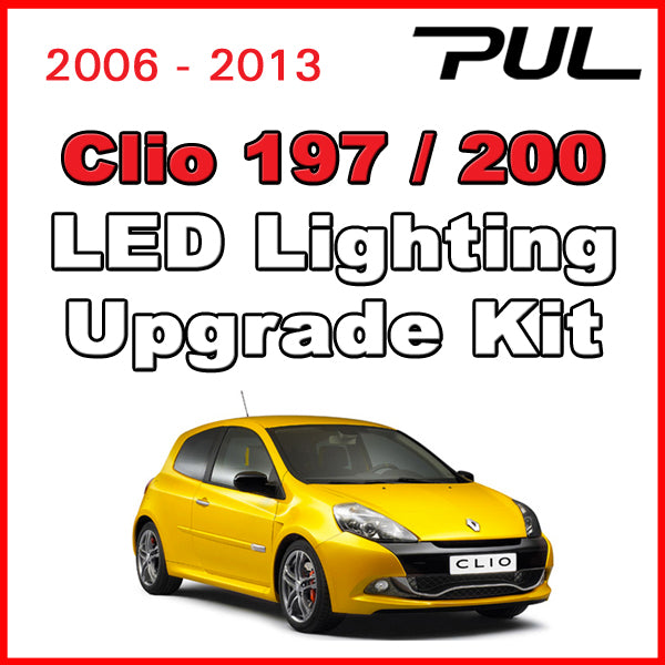 Clio RenaultSport 197 / 200 LED Lighting Upgrade Kit