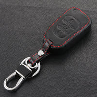Leather Remote Key Fob Case Cover Holder For Kia K2 K5 Soul Sorento Sportage EB