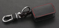 Leather Key Case Holder Bag Keyring Fob Trim For Peugeot 308 408 RCZ Accessories