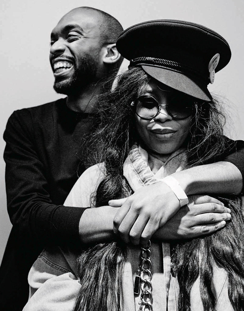 ELLE – Kerby Jean-Raymond and Erykah Badu Team Up to Bring Awareness to Mental Health