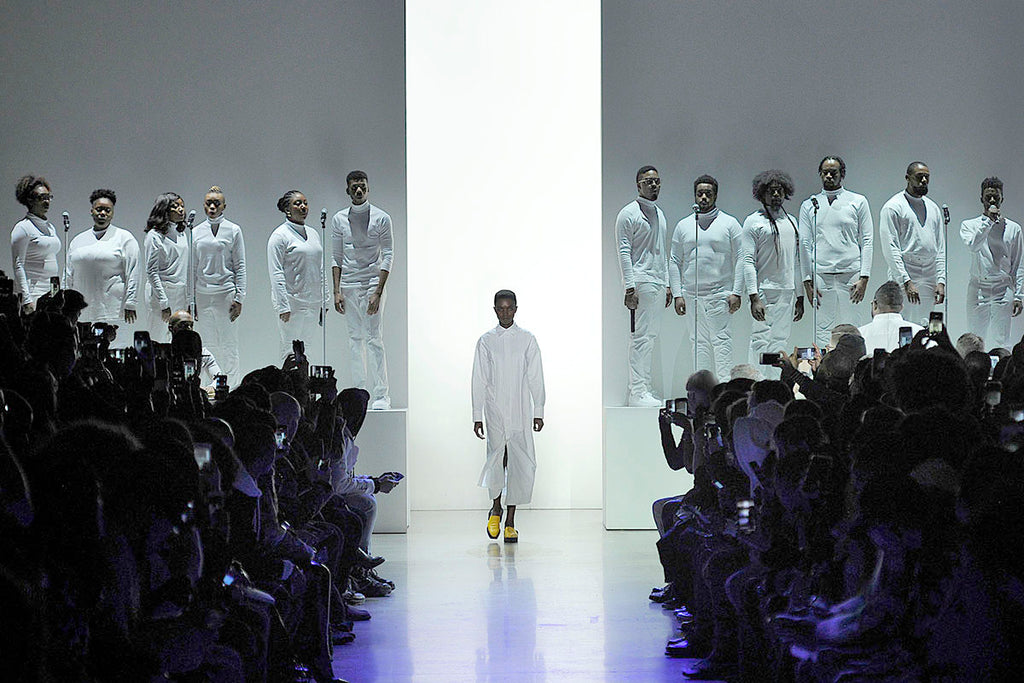 THE WASHINGTON POST – The designer who preaches a powerful political message with every fashion show