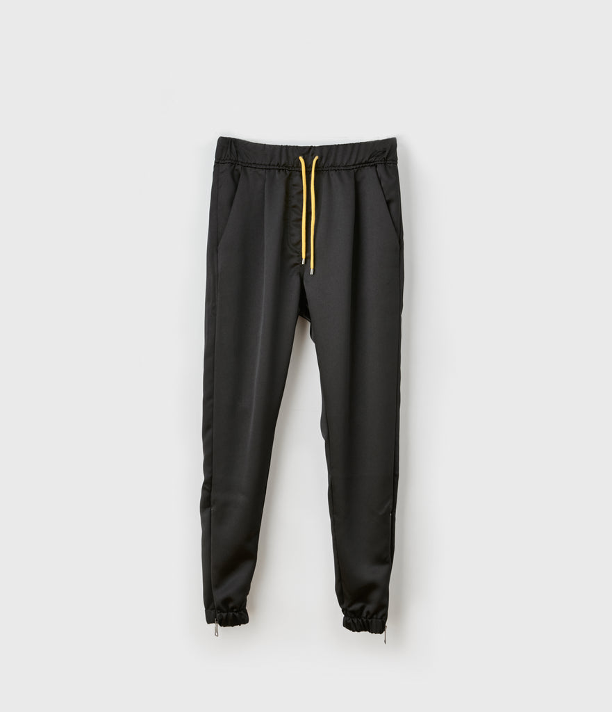 Pleated Satin Effect Lounge Pant
