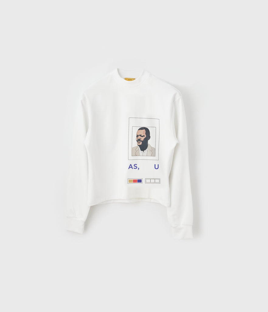 """Optimistic"" Long-sleeve Tee"