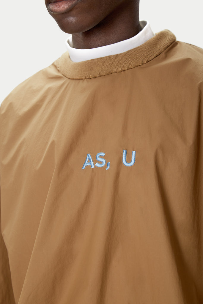 """AS USA AS U"" Nylon Track Shirt"