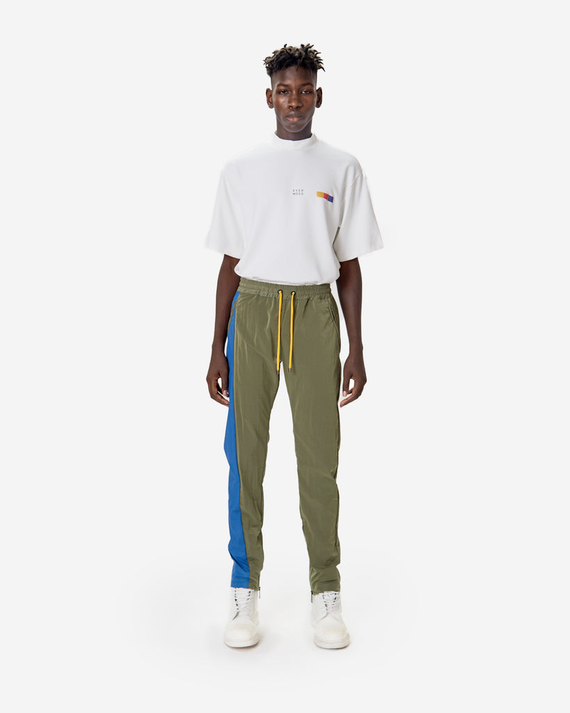 Blue Stripe Track Pant