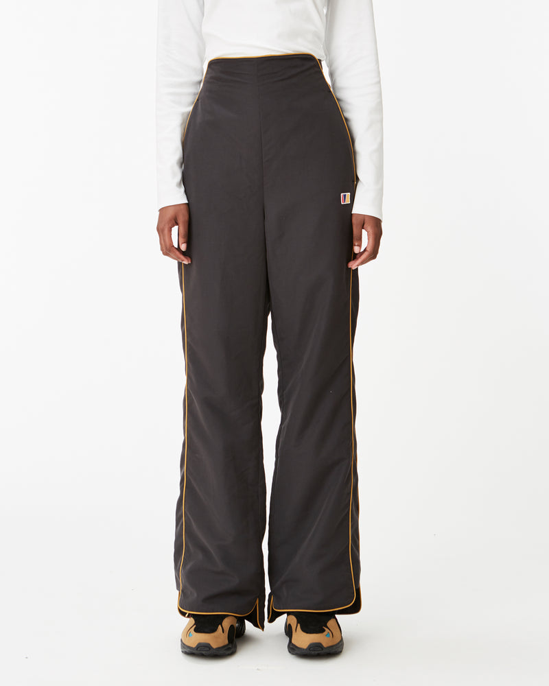 High-Waisted Split Trouser