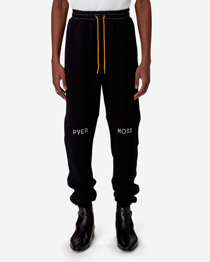 Embroidered Logo Slouchy Jogger