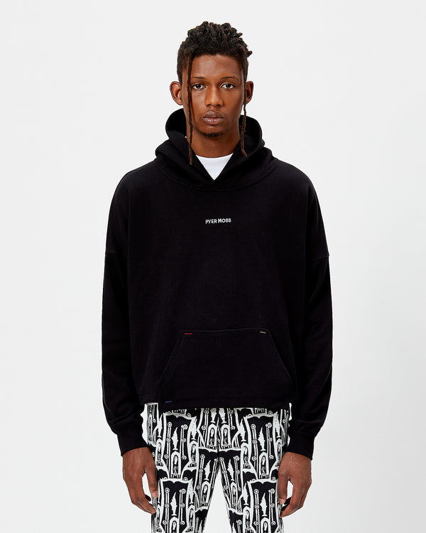 Classic Logo Cropped Hoodie