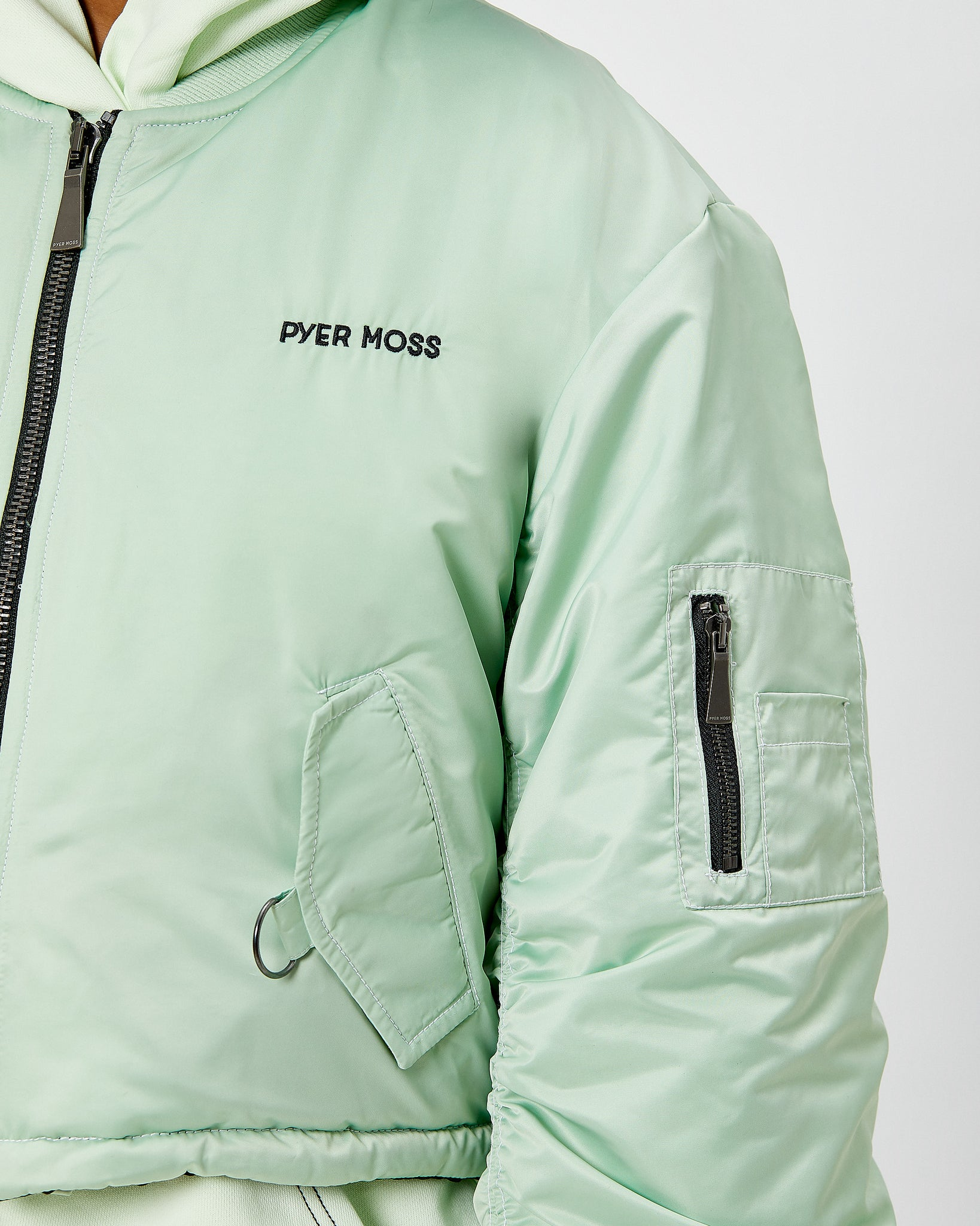Nylon MA-1 Bomber Jacket