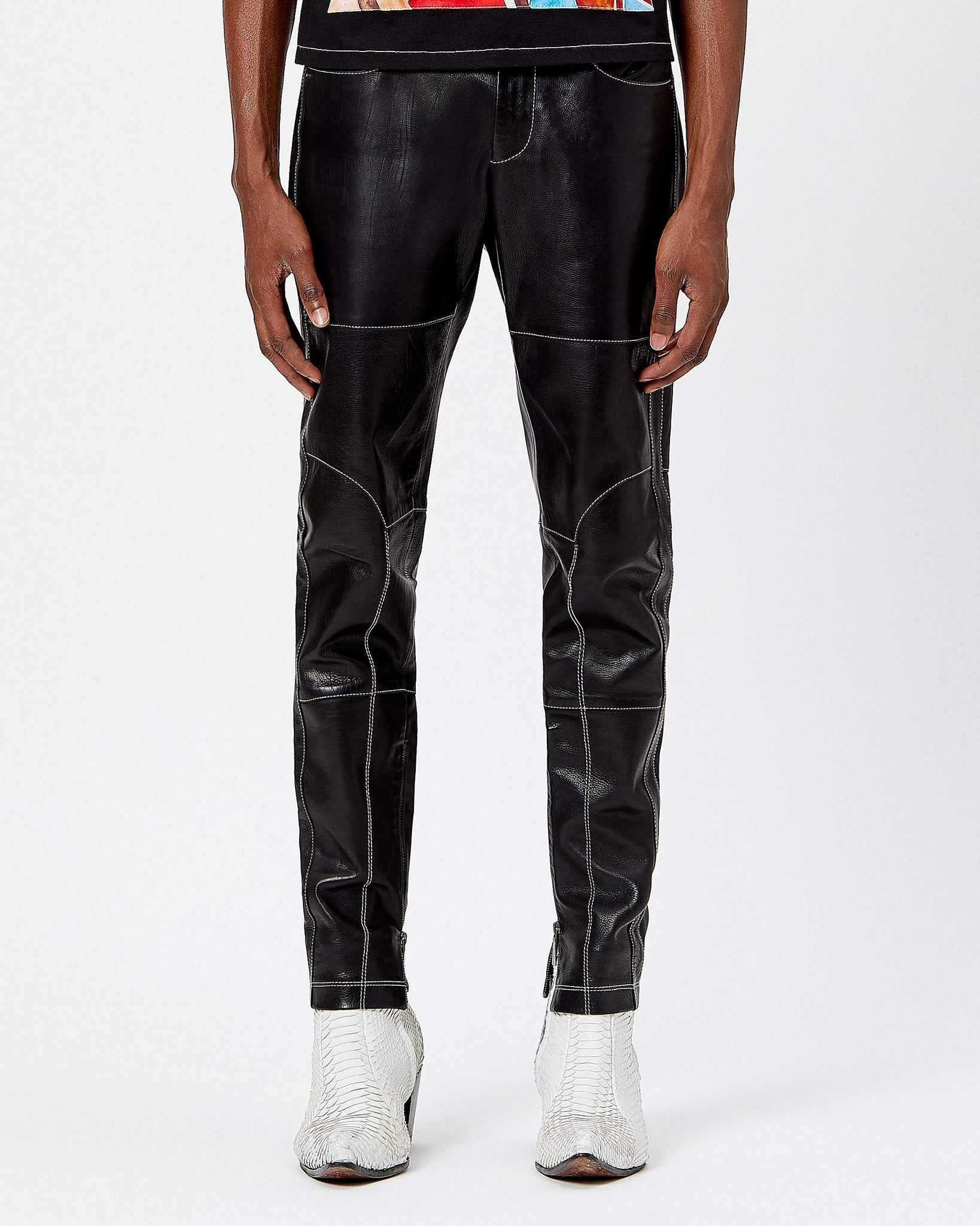 Leather Honcho Pant