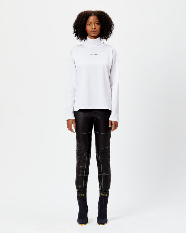 Classic Logo Long-Sleeve Turtleneck