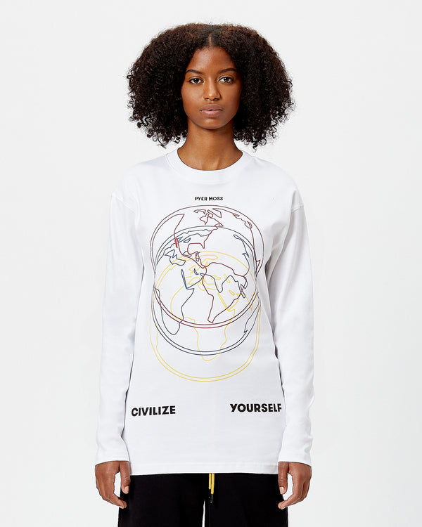 """Civilize Yourself"" Long-Sleeve Tee"