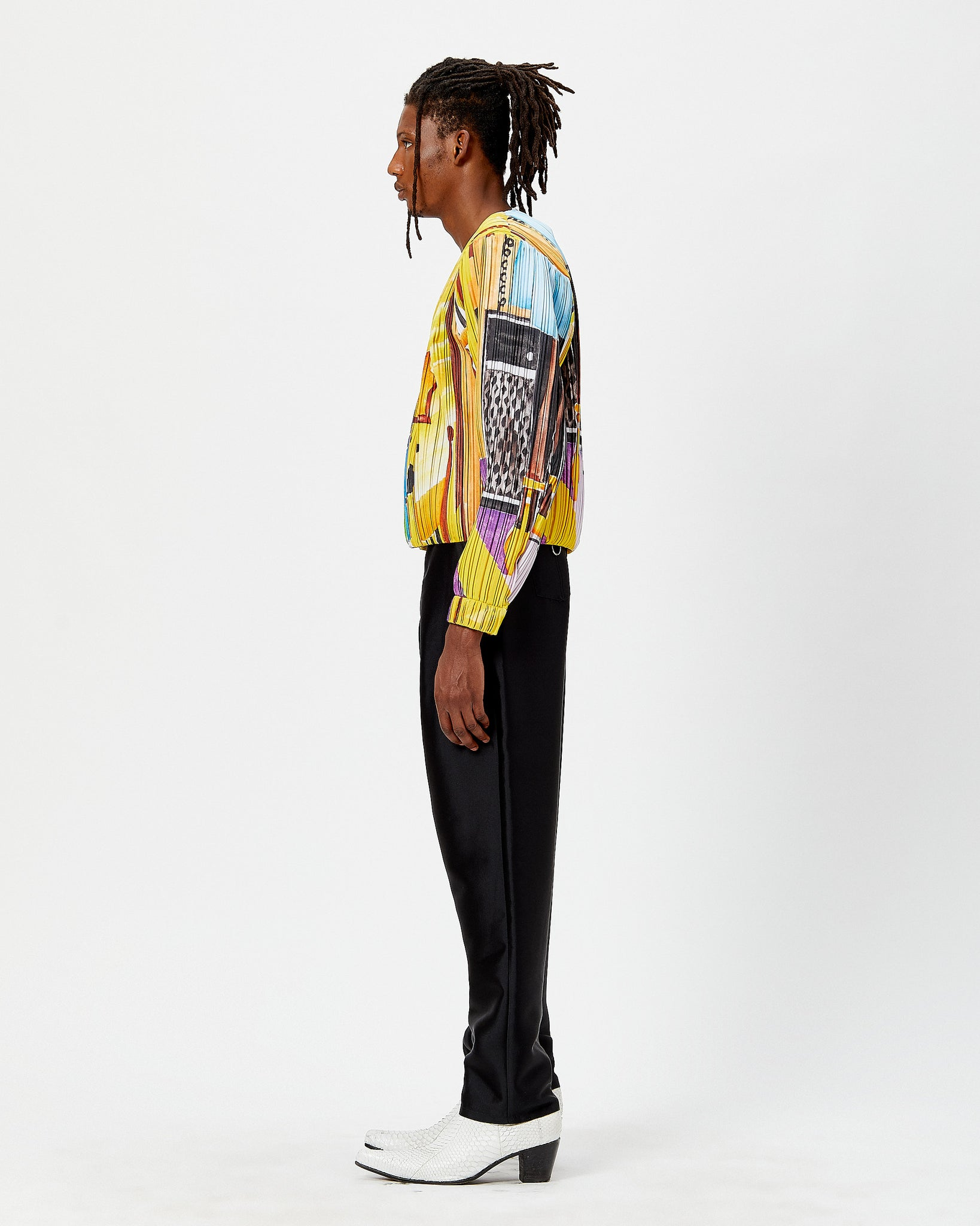 Pleated Zoot Shirt