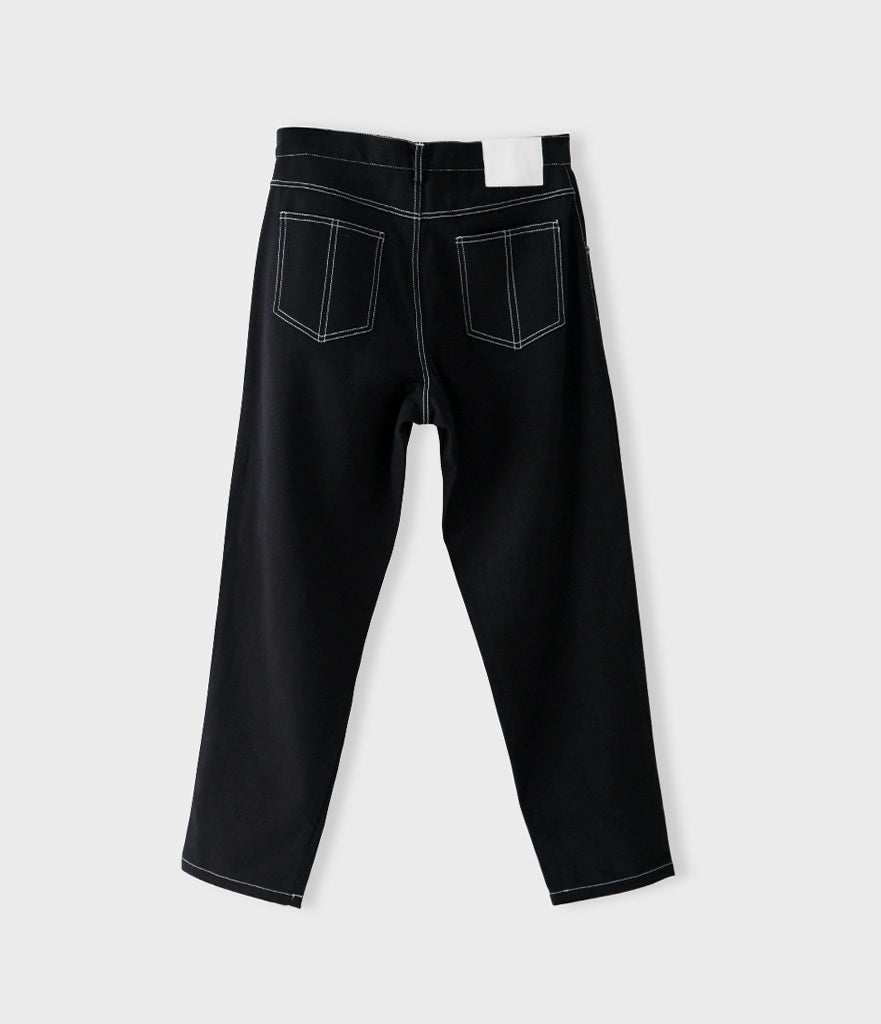 Relaxed Fit 5-Pocket Denim Pant