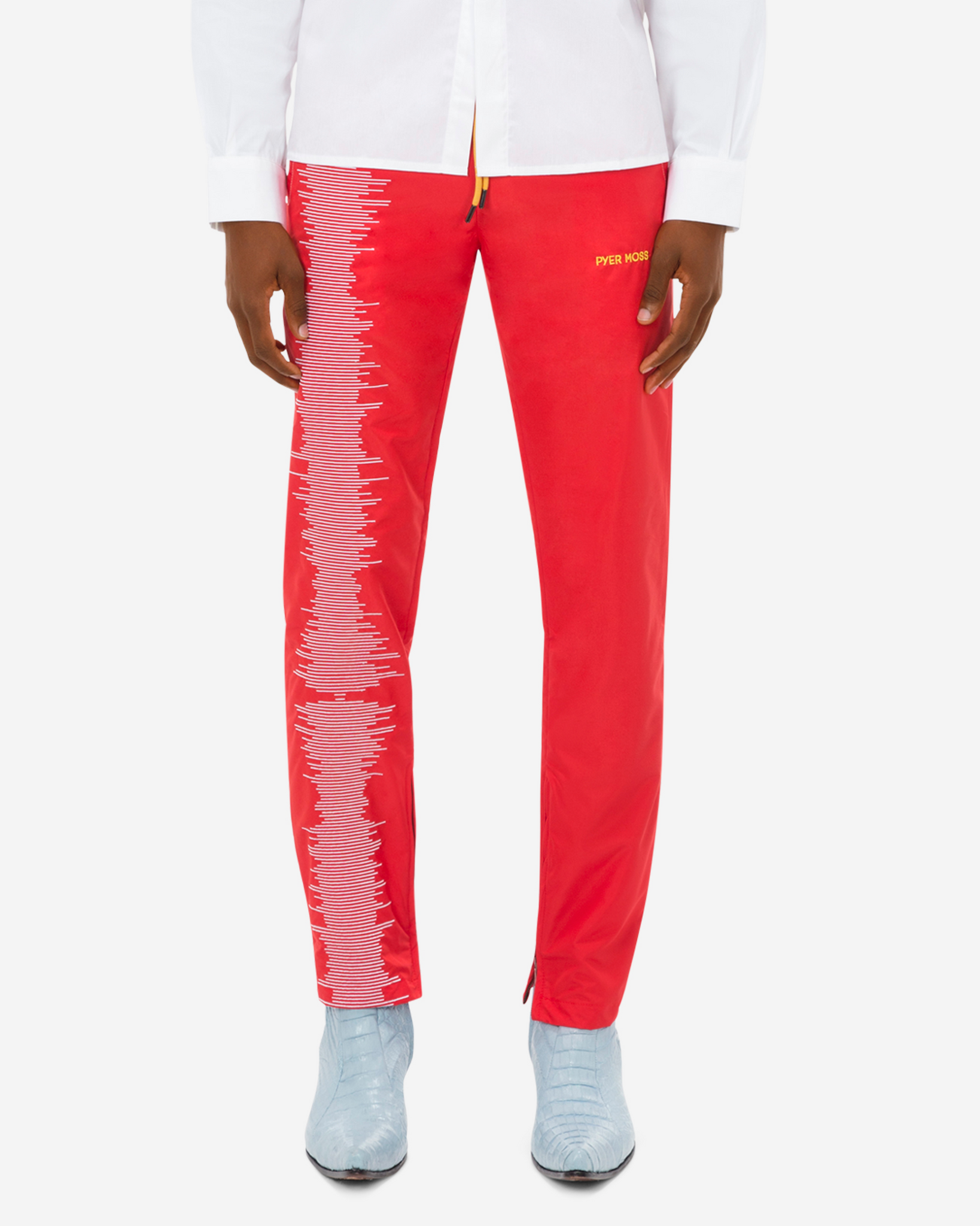 """Rock Me"" Embroidered Track Pant"