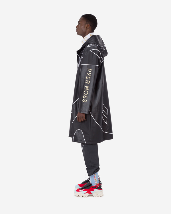 Sankofa Patchwork Long Coat