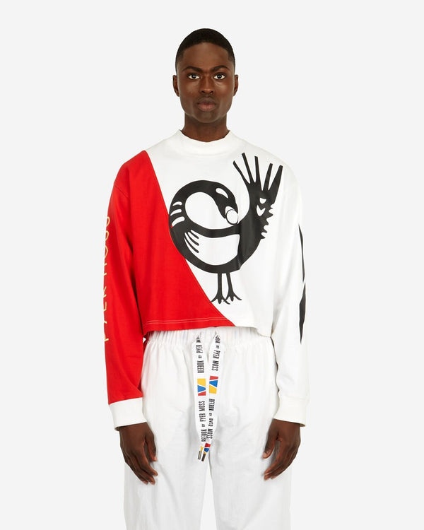Sankofa Cropped Long-Sleeve Tee