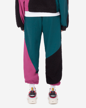 Sherpa Nylon Trackpants