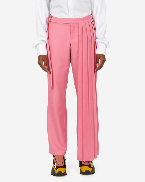 Pleated Track Pants
