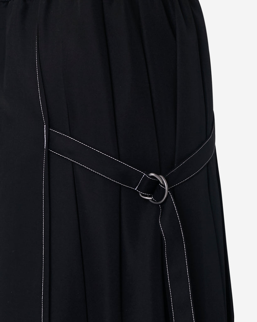 Pleated Panel Ring Skirt