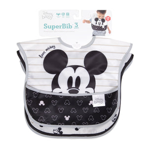 Disney - Superbib 3pk - Love Mickey